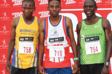 TUT runner set sight on world games