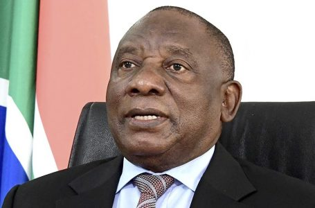 President Cyril Ramaphosa will address the nation at 20h00 this evening
