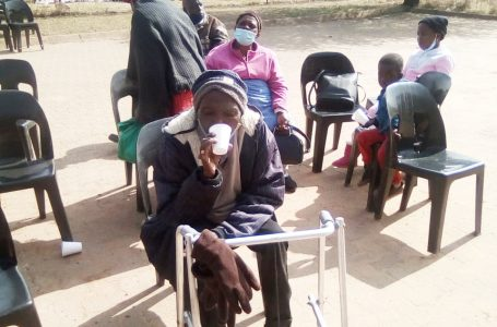 Pensioners well fed by Sghandi Scheme